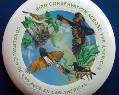 International Migratory Bird Day frisbee