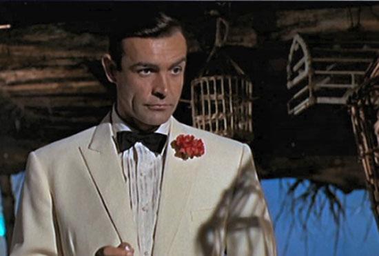 James Bond in his tux.