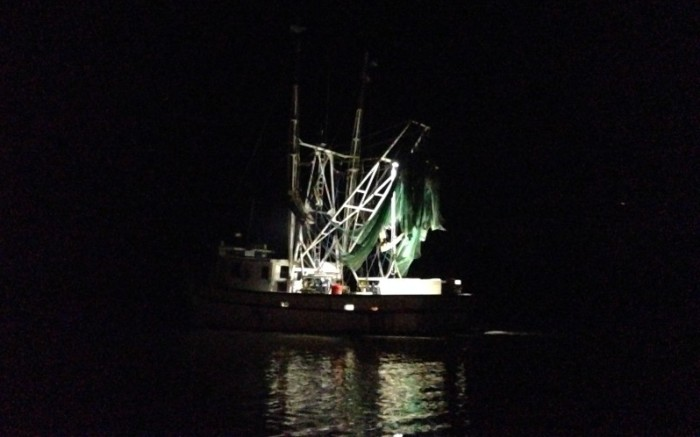 Shrimp boat, McClellanville, South Carolina