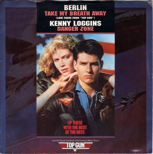 Berlin's Take My Breath Away. You may know it from Top Gun