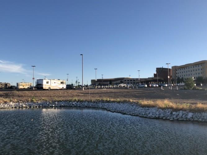 Capture sight and Twin Arrows Casino in the background. Photo: Amy Scarpignato